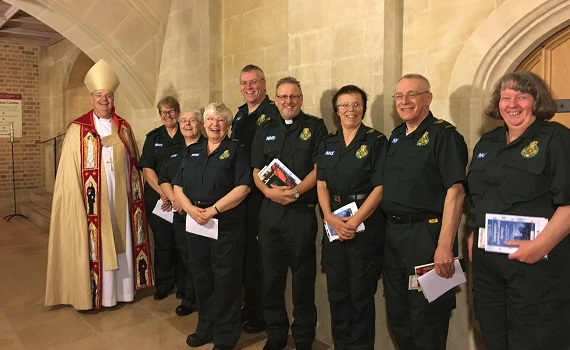 New chaplains join EEAST