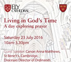 Explore prayer as you soak up rich cathedral's monastic heritage