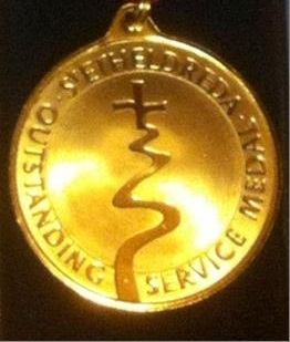 Service recognised in Etheldreda Medal