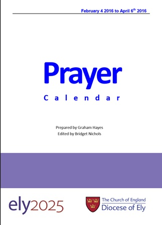 New Prayer Calendar