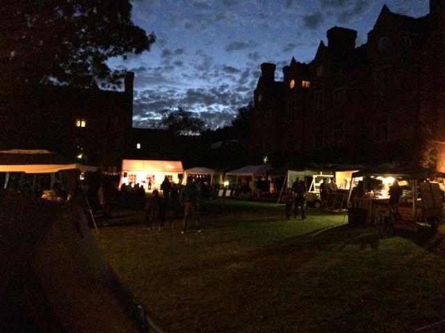 Festival takes over Cambridge quad