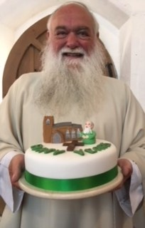 Fr. Andrew Davey celebrating 40 years of Ordination at the weekend (Click to enlarge)