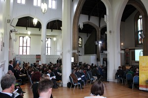 Introductory session in the main hall (Click to enlarge)