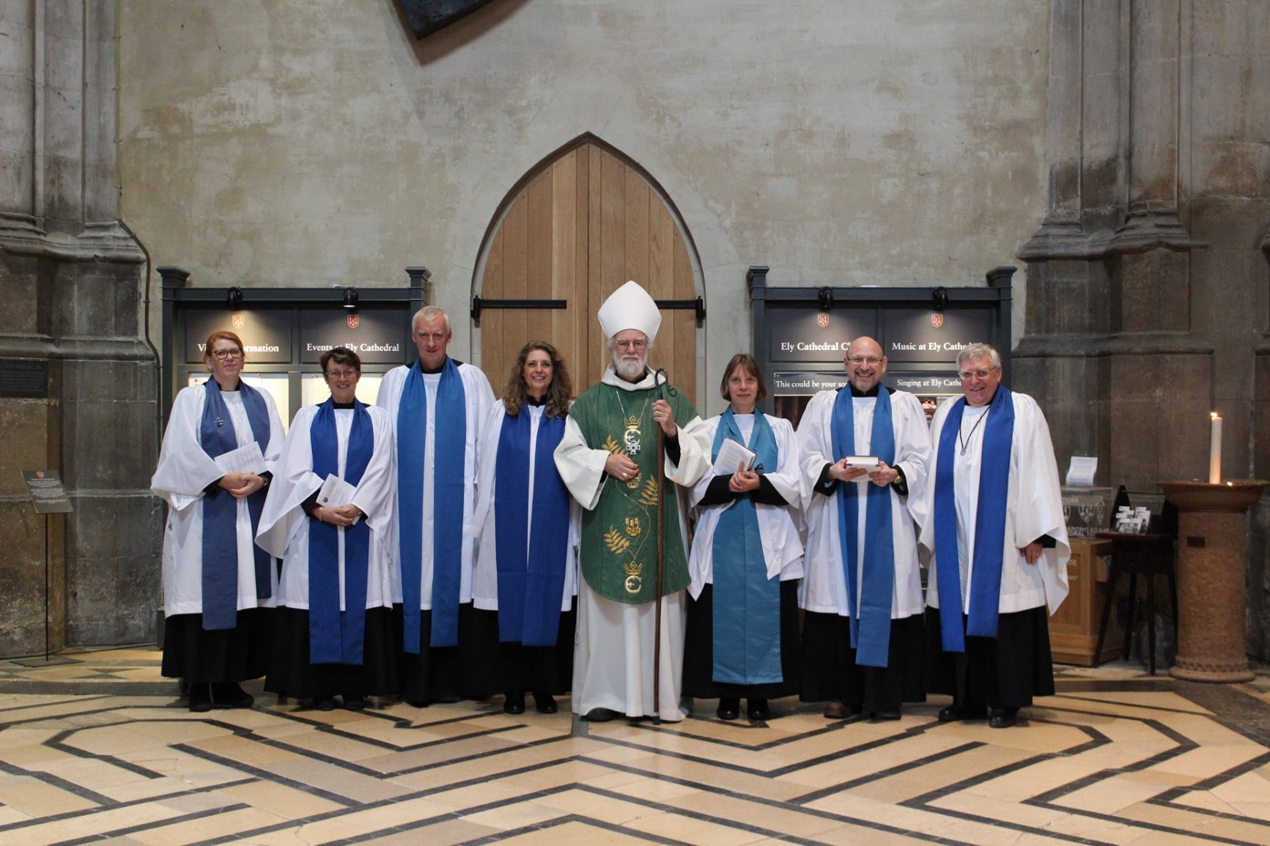 Our New LLMs with Bishop Rowan Williams (Click to enlarge)